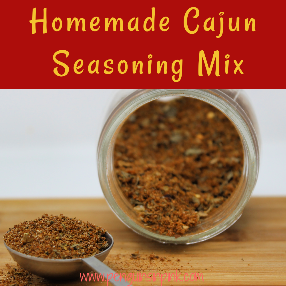 A spicy, delicious, flavorful, homemade version of Cajun seasoning mix. Homemade Cajun seasoning mix is a mix of seasoned salt, paprika, garlic powder, and a few other herbs.