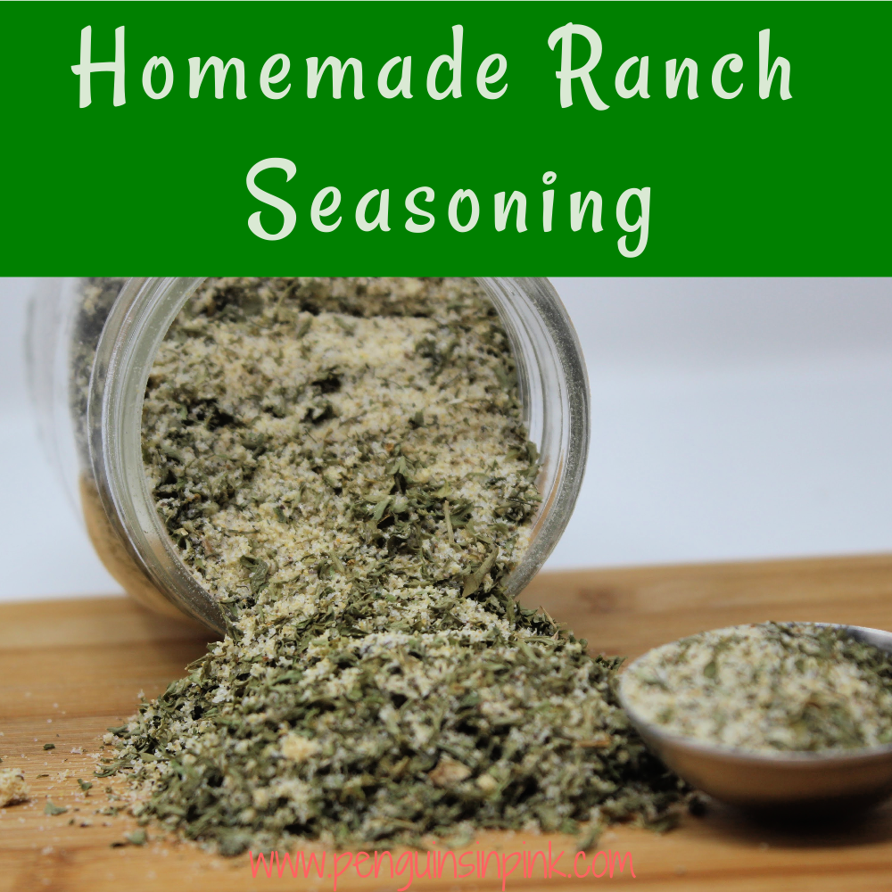 A flavorful, homemade version of ranch seasoning. Homemade Ranch Seasoning is a mix of parsley, dill weed, and a few other common household herbs.