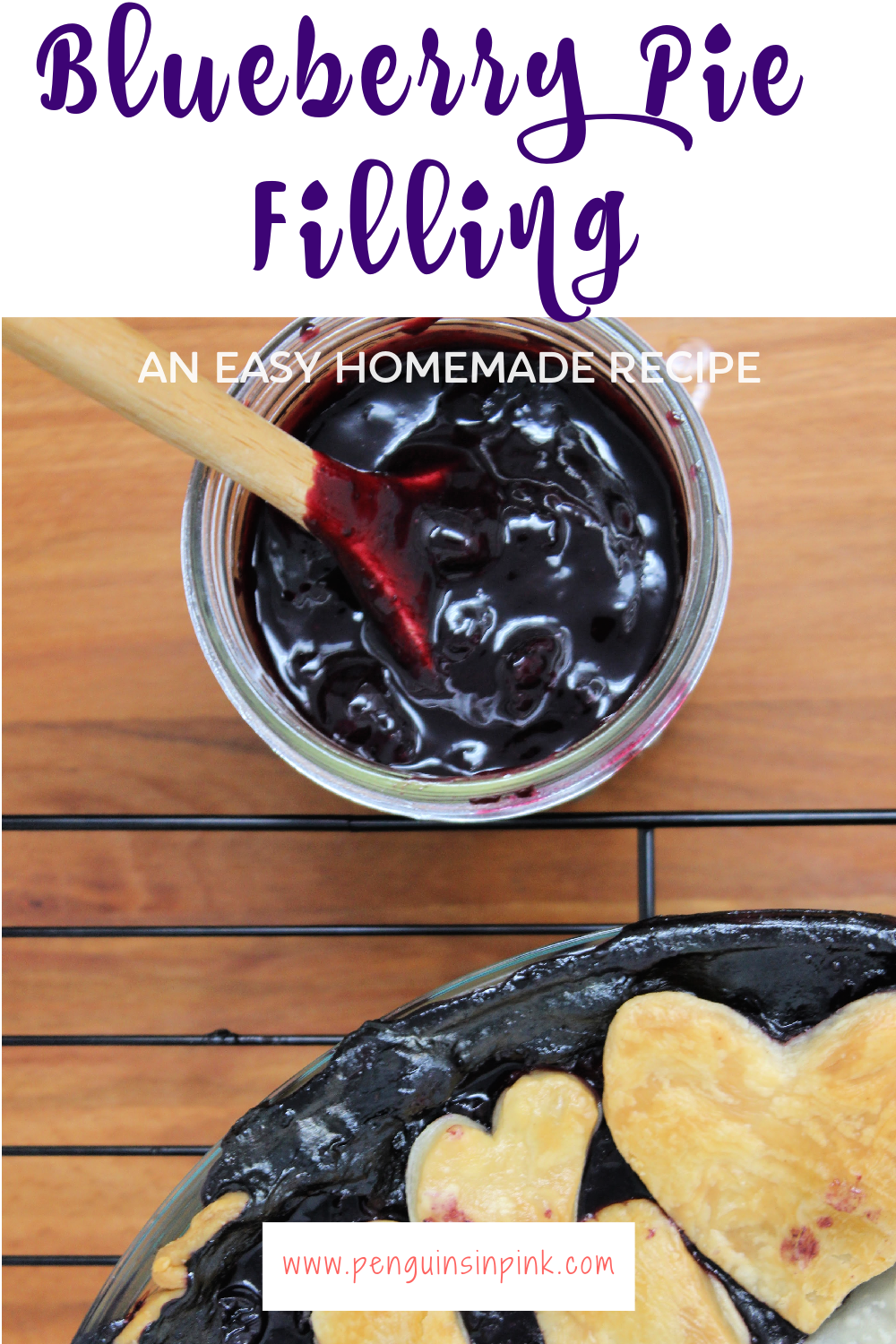 A sweet, easy to make homemade blueberry pie filling that is Trim Healthy Mama friendly with options for paleo and is perfect on top of Greek yogurt, ice cream, mixed in our oatmeal, or you know... baked in a pie!