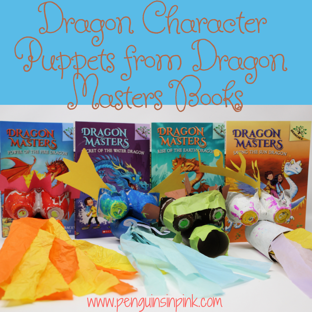Create Worm, Kepri, Shu, and Vulcan with this Dragon Character Puppets from Dragon Masters Books out of toilet paper rolls and egg cartons! A fun craft for the kids!