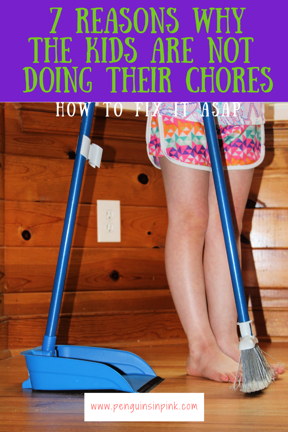 Trying to figure out why the kids are neglecting their chores? Learn 7 reasons why the kids are not doing their chores, how to fix it ASAP, and helpful tips to make getting the chores done easily.