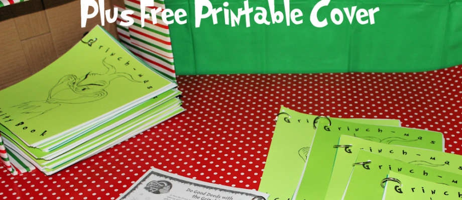 Grinchmas Activity Book Plus Free Printable