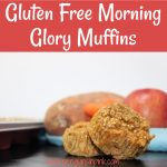 Gluten Free Morning Glory Muffins have a little bit of everything carrots, apples, sweet potatoes, and quinoa. They are the perfect way to start your day and give your kids something delicious and healthy, too!